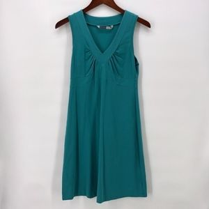 Athleta Teal Senorita Sleeveless Dress M